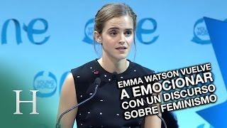 Emma Watson vuelve a emocionar con un discurso sobre feminismo