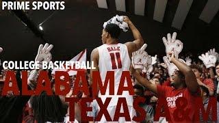 #15 Texas A&M vs. Alabama (2016 Alabama Basketball Highlights) (Prime Sports)