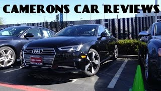 2017 audi a4 s line 2 0 l turbo 4 cylinder review   camerons car reviews