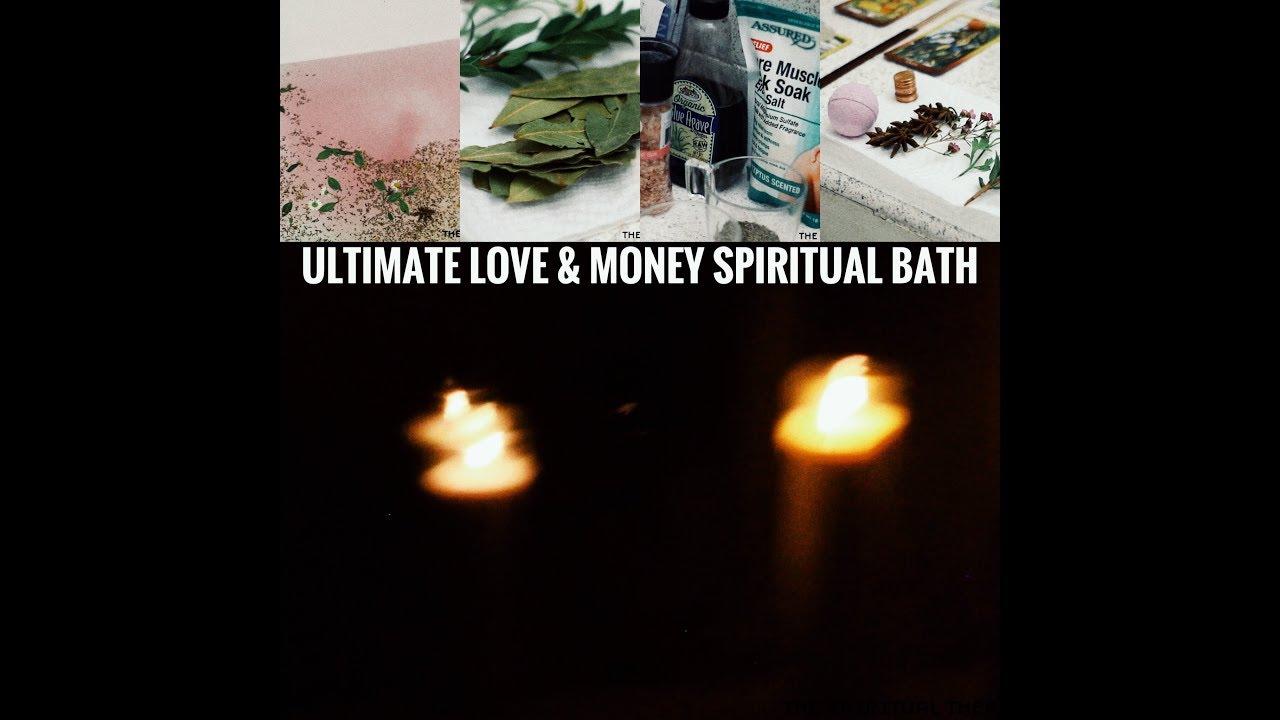 ULTIMATE LOVE & MONEY SPIRITUAL BATH #SuperMoon #NewMoon