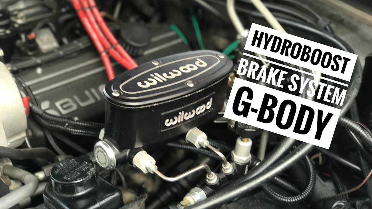 Buick Grand National Gbody Hydroboost Brake System  YouTube