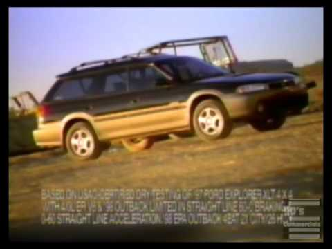 Here's How the Subaru Outback Has Changed Over Six Generations