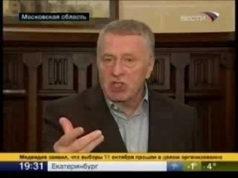 Жириновский: Лужков должен сидеть в тюрьме!
