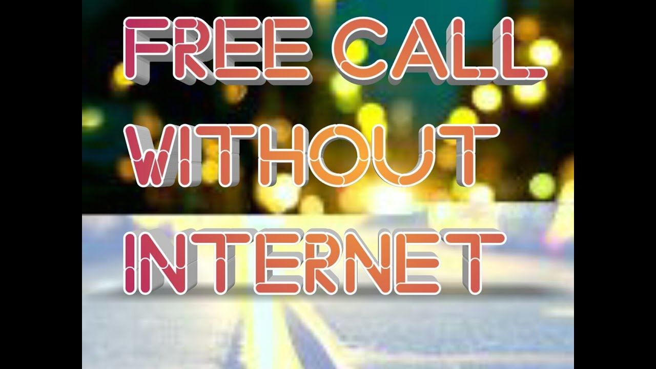 How to make free calls without wifi ? & How to setup whatsapp with foreign number ?