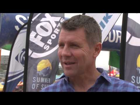 Summer of Surf 2016 17 Round 6 Freshwater   Mike Baird Interview