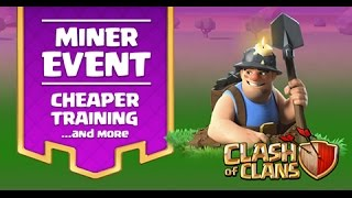 FASTEST METHOD TO FARM With Mass Miner In Titan | New Miner Event Special | Clash Of Clans 2017