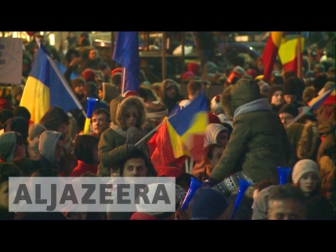 Romania to scrap corruption decree after mass protests