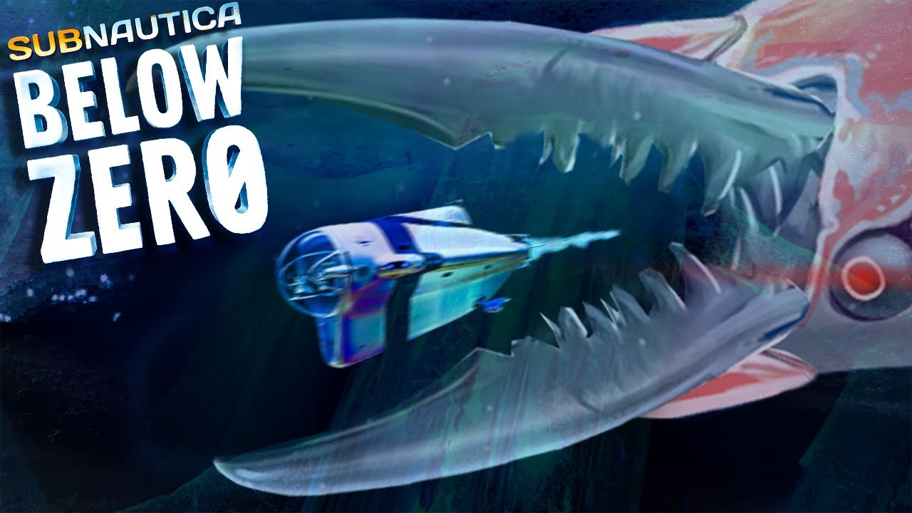 GIANT SHRIMP LEVIATHAN! - Subnautica: Below Zero | Subnautica News #122