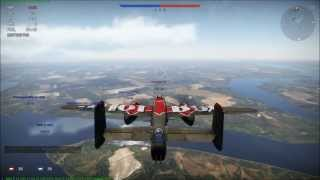 War Thunder - Multiplayer PVP Domination Gameplay