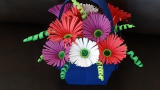 Part II - How to make quilling flower basket