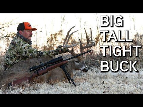 Big Tall Tight Oklahoma Buck!! | Deer Hunting During The Rut