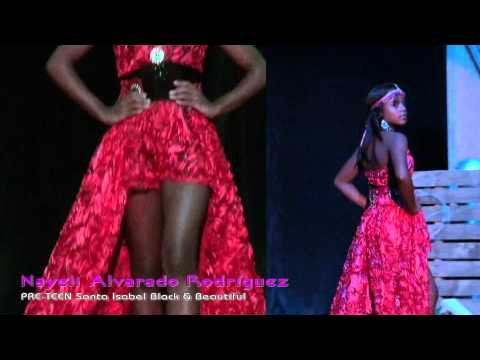 Miss Puerto Rico Black & Beautiful 2013 - Top Model Competition