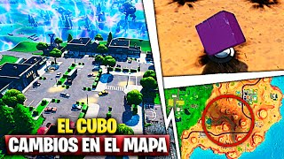 Patch 10.10 All Secret Changes On The Cube Map and Event Fortnite Battle Royale