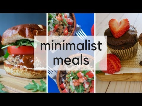 Minimalist What I Eat in a Day | Easy, Healthy Meals for Busy Days