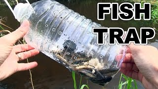 How to make a fish trap with plastic bottle in a few seconds