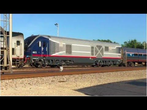 Very Strange Amtrak Train