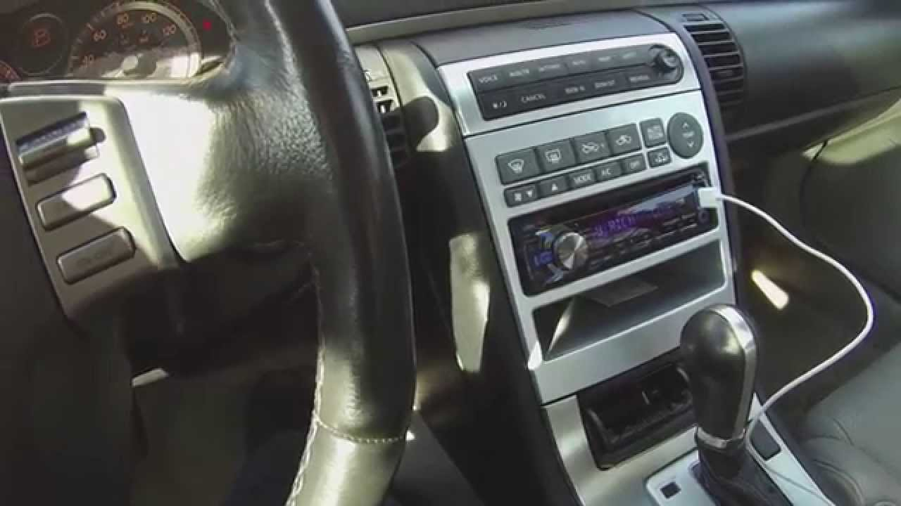 New kenwood radio in 2005 infiniti g35x sedan youtube vanachro Choice Image
