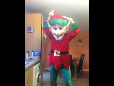 mr elf dancing