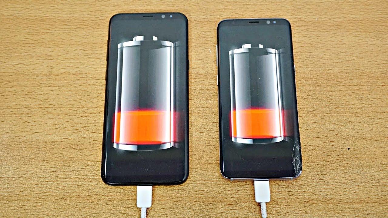 Battery Drain Test : Samsung galaxy s vs plus battery drain test k