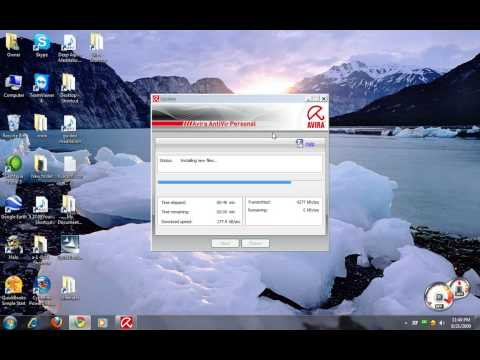 Avira Anti Virus Install And Configure