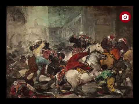 Le Deux Mai 1808 Ou La Charge Des Mamelouks Francisco De Goya Youtube