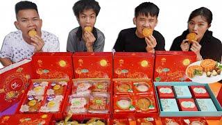 Hưng Troll | Thử Thách Người Cuối Cùng Ngừng Ăn Bánh Trung Thu Thắng Nhận 500$