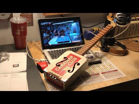 The Canadian Express Cigar Box Guitar