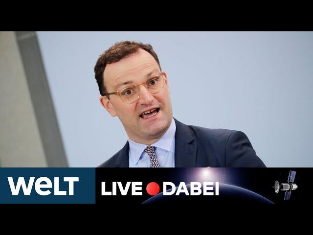LIVE DABEI: Statement - Jens Spahn sieht erste Erfolge bei Corona-Zahlen; aber keine Entwarnung