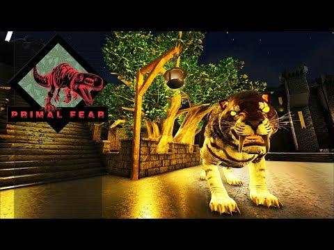 Ark Primal Fear EP14 - Iluminação & Alpha Sabertooth!