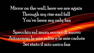 lil wayne ft bruno mars mirror lyrics traduzione