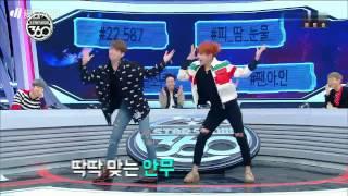 vuclip 161107 BTS (방탄소년단) Star Show 360 (스타쇼360) JungKook & J-hope Dancing Song Red Velvet and I.O.I very