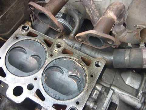 """""""Ока"""" ВАЗ  11113-40. Неполная разборка двигателя."""