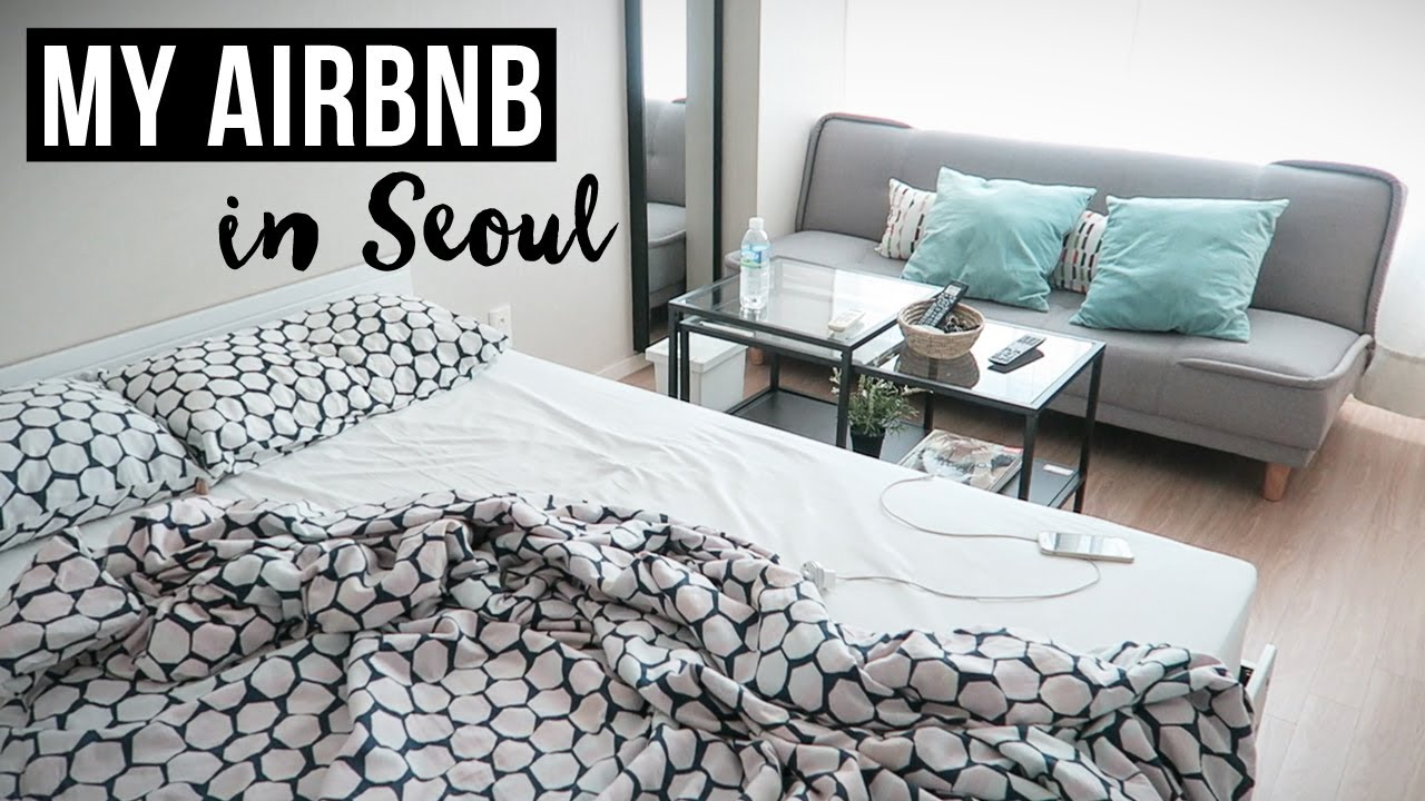 My Airbnb in Seoul ► First Day in South Korea