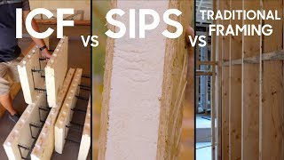 ICF vs SIPs vs Framing - Pros and Cons