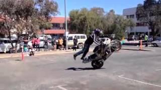 Dave McKenna Stunt Demo
