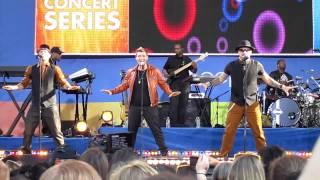 Backstreet Boys (Reunited!) I Want It That Way (GMA 8/31/12)