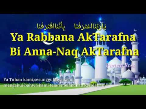 Ya Rabbana Aktarafna Lirik Rumi