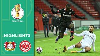 Diaby führt Bayer zur Revanche | Leverkusen - Frankfurt 4:1 | Highlights | DFB-Pokal | 2. Runde