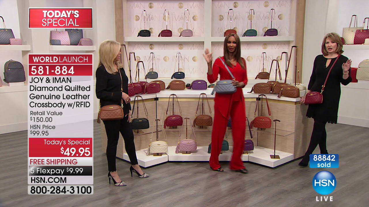 HSN | JOY & IMAN: Fashionably Functional Holiday Event 12 16 2017 - 04 PM