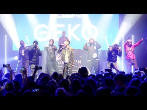 Geko And NSG Perform '6:30' At Capital XTRA Homegrown Live