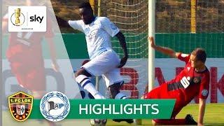 1. FC Lok Stendal - Arminia Bielefeld 0:5   Highlights - DFB-Pokal 2018/19 - 1. Runde