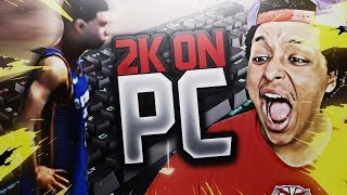#1 RANKED PS4 PLAYER TRIES PC VERSION OF NBA 2K18