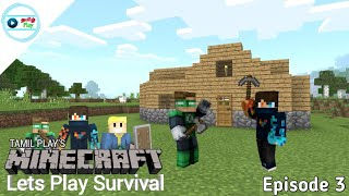 Tamil Play's Minecraft Lets Play Survival - Episode 3