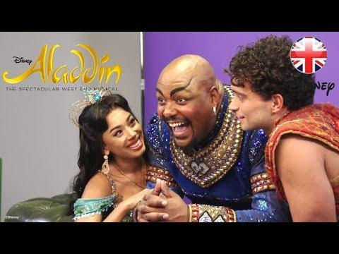 ALADDIN THE MUSICAL | Meet Matthew Croke - The New Aladdin | Official Disney UK