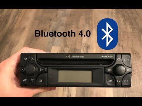 Mercedes Benz Audio 10 CD - Bluetooth Integration