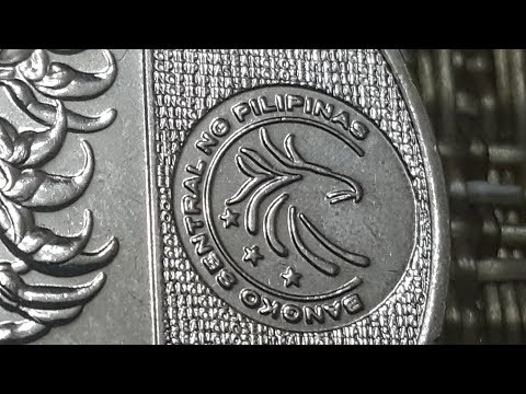 The New Generation Currency Philippines 5 Peso Coin
