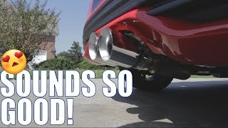 new super sick exhaust on my focus st awe track edition exhaust