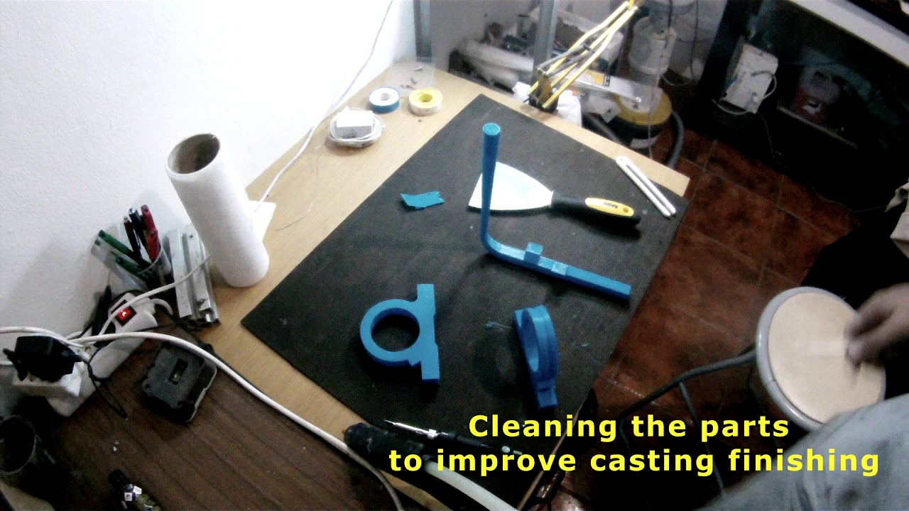 Casting Aluminium With Lost PLA Investment Mold : 8 Steps (with