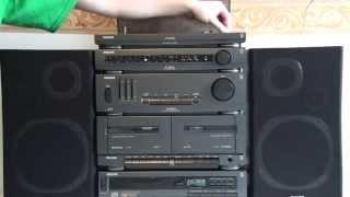 philips stereo med cd och vinylspelare