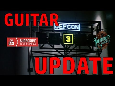 Back It Down To DEFCON 3 Guitar Update